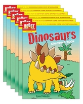 Boost Dinosaurs Coloring Book Grades 1-2, Pack of 6