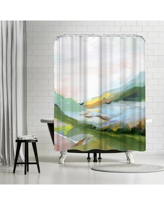 PI Creative Art Highland Ii Single Shower Curtain East Urban Home
