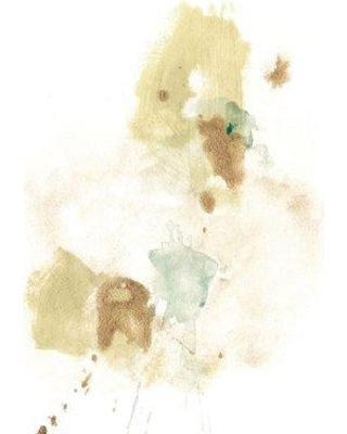 """East Urban Home 'Liquid Echo II' Watercolor Painting Print on Wrapped Canvas ERNI3720 Size: 26"""" H x 26"""" W x 1.5"""" D"""