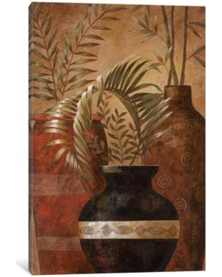 """World Menagerie Exotic Vacation II Painting Print on Wrapped Canvas WLDM3261 Size: 18"""" H x 12"""" W x 1.5"""" D"""