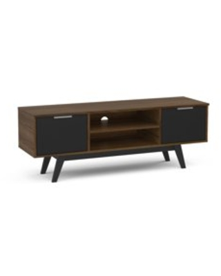 Polifurniture Shard 53 inch TV Stand, Franssino Whiskey and Black