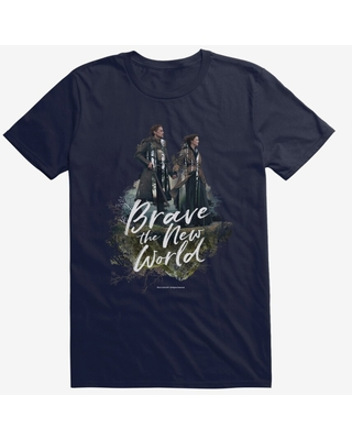 Outlander Jamie Claire Brave New World Poster T-Shirt