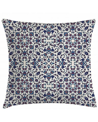 """Indoor / Outdoor Floral 40"""" Throw Pillow Cover"""