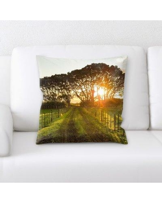 East Urban Home Countryside Throw Pillow W000731226