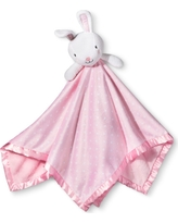 Large Security Blanket Bunny - Cloud Island Light Pink