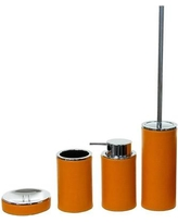 Gedy by Nameeks Alianto Color 4-Piece Bathroom Accessory Set Gedy AC100 Color: Orange