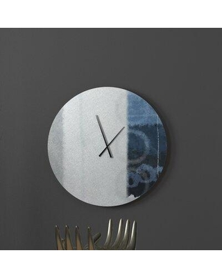Spectacular Sales For Ebern Designs Moscatello Wall Clock X112544063 Size Large