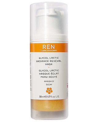 REN Clean Skincare Radiance Glycol Lactic Radiance Renewal Mask in Beauty: NA.
