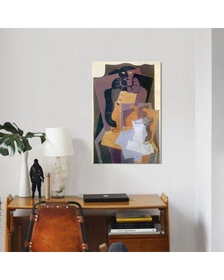 """East Urban Home 'Pierrot 1922' Graphic Art Print on Canvas UBAH4871 Size: 40"""" H x 26"""" W x 1.5"""" D"""