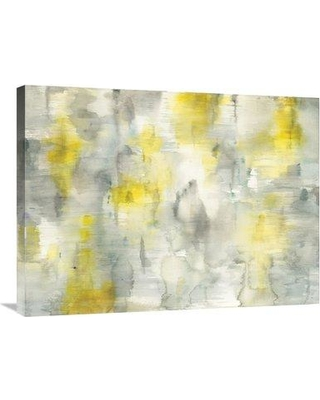 """East Urban Home 'Summer Shower' Print ESUM5765 Size: 24"""" H x 32"""" W Format: Wrapped Canvas"""