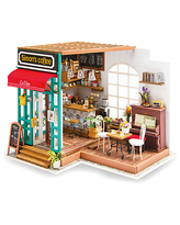 Hands Craft Puzzles - Simon's Coffee 3-D Wooden Puzzle Miniature House