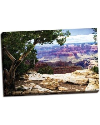 Millwood Pines 'The Canyon I' Photographic Print on Wrapped Canvas BI055794
