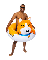 Giant Corgi Pool Float - Active Play for Ages 8 to 12 - Fat Brain Toys