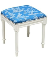 Prime Remarkable Deal On 123 Creations Chinoiserie Vanity Stool Creativecarmelina Interior Chair Design Creativecarmelinacom