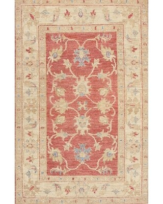 Find The Best Deals On Sewell Traditional Beige Red Area Rug Bloomsbury Market Rug Size Rectangle 2 X 3