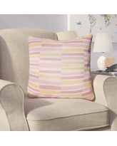 "Harriet Bee Colinda Throw Pillow HBEE1295 Color: Pink, Size: 22"" H x 22"" W x 5"" D"