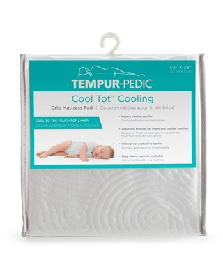 Tempur-Pedic Cool Tot Cooling Crib Mattress Pad