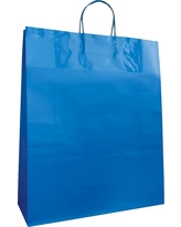 Blue Jumbo Tote Bags - Spritz, Multi-Colored