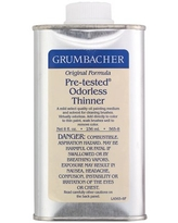 Grumbacher Pre-Tested Odorless Paint Thinner, 8 oz.