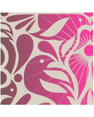 Kreme California Texture 16' x 23.5'' Abstract Wallpaper WP003 Color: Vintage Plum