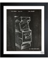 "Oliver Gal Game Cabinet 1978 Framed Graphic Art 1B00135_15x18/1B00135_26x32 Size: 32"" H x 26"" W"