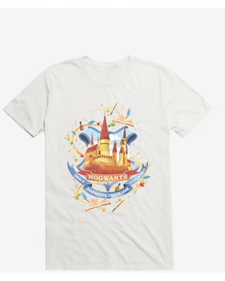 Harry Potter Hogwarts School Graphic T-Shirt