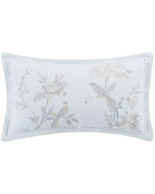 wamsutta wamsutta margate oblong throw pillow in illusion blue from bed bath beyond real simple