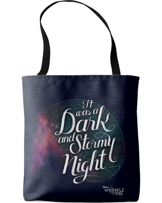 ''It Was a Dark and Stormy Night'' Tote Bag A Wrinkle in Time Customizable Official shopDisney