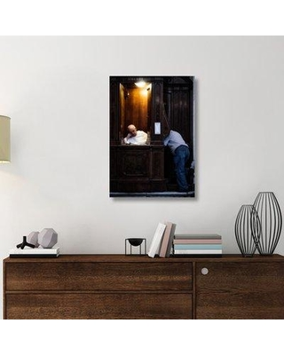 "East Urban Home 'Talk to the Hand' Photographic Print On Wrapped Canvas ERNH2654 Size: 36"" H x 25.2"" W x 1.5"" D"