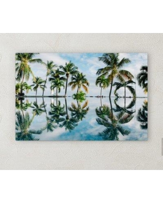 "Bay Isle Home 'All Reflections' Photographic Print on Wrapped Canvas BI071841 Size: 20"" H x 30"" W x 2"" D"