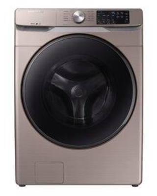 Samsung 4.5 cu. ft. High Efficiency Front Load Washer WF45R6100A Color: Champagne