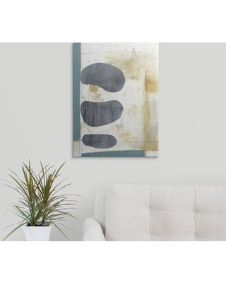 "Great Big Canvas 'Kismet I' Jennifer Goldberger Painting Print 2445877_1_ Size: 48"" H x 36"" W x 1.5"" D Format: Canvas"