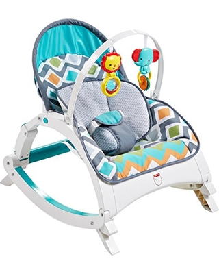Fisher Price Fisher Price Newborn To Toddler Rocker Glacier Wave Amazon Exclusive From Amazon Parenting Com Shop