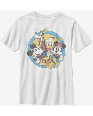 Disney Mickey Mouse Fab Five Friends Youth T-Shirt