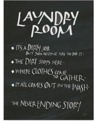 Winston Porter Laundry Room Sayings Acrylic Painting Print On Wred Canvas Wnst6517 Size