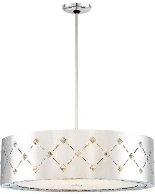 Everly Quinn Geiser 1-Light Pendant EYQN7914