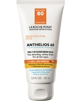 La Roche-Posay Anthelios Face and Body Sunscreen Melt-In Milk Lotion - Spf 60 - 5oz