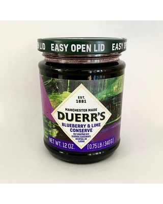 Duerr's Blueberry and Lime Conserve Set of 6 by World Market