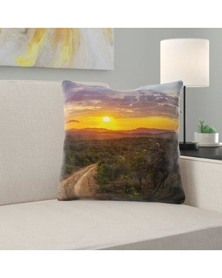 East Urban Home Clouds Throw Pillow W000733831