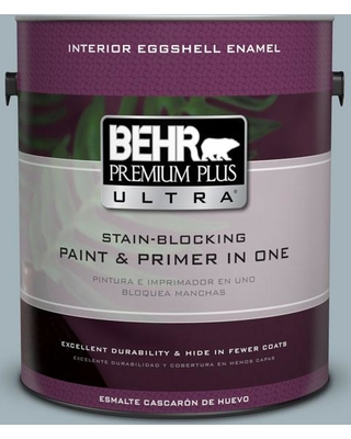 BEHR Premium Plus Ultra 1 gal. #ppf-27 Porch Ceiling Eggshell Enamel Interior Paint and Primer in One