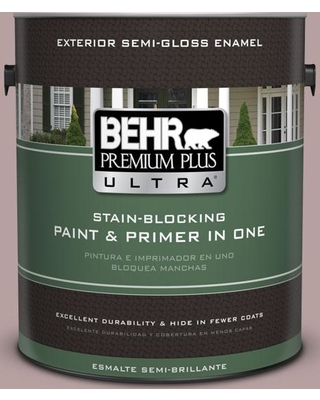 BEHR ULTRA 1 gal. #720B-4 Desert Echo Semi-Gloss Enamel Exterior Paint and Primer in One