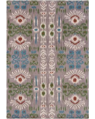 Bungalow Rose Graf Abstract Hand-Tufted Wool Green Area Rug BGRS3231 Rug Size: Rectangle 5' x 7'