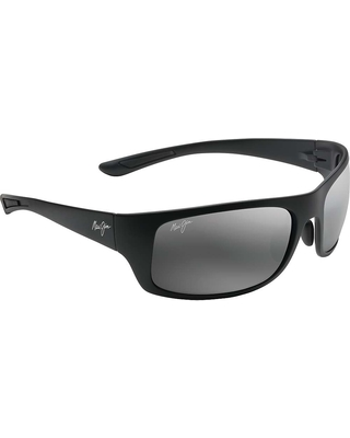 fd5cd6820be Maui Jim Big Wave Polarized Sunglasses - One Size - Matte Black   Neutral  Grey Polarized