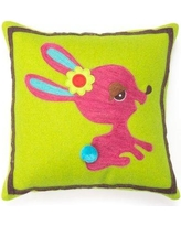 Amity Home Bunny Wool Throw Pillow SG119