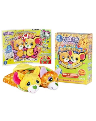 Here S A Great Deal On Cutetitos Taste Budditos Mac Cheese 2 Collectible Plush Mini Animals Ages 3 Series 1 Not only are they wrapped in a fruit blanket they also. parenting