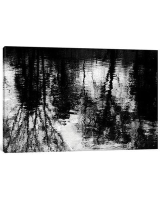 """East Urban Home 'Reflecting' Painting Print on Canvas ESUR7811 Size: 40"""" H x 60"""" W x 1.5"""" D"""