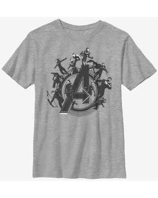Marvel Avengers Flying Heroes Youth T-Shirt