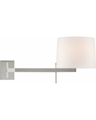 Visual Comfort and Co. Barbara Barry Sweep 13 Inch Wall Sconce - BBL 2162PN-L