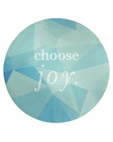 Amazing Deals On Faux Gemstone Choose Joy Quote Poly Chenille Rug East Urban Home Rug Size Rectangle 8 X 10
