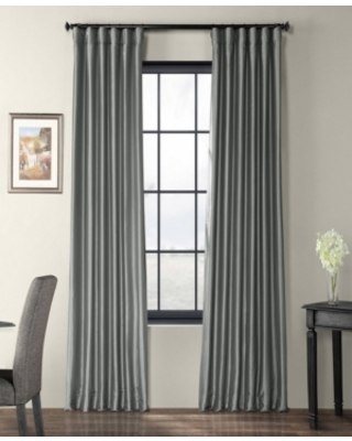 "Exclusive Fabrics & Furnishings Taffeta 50"" x 108"" Curtain Panel"